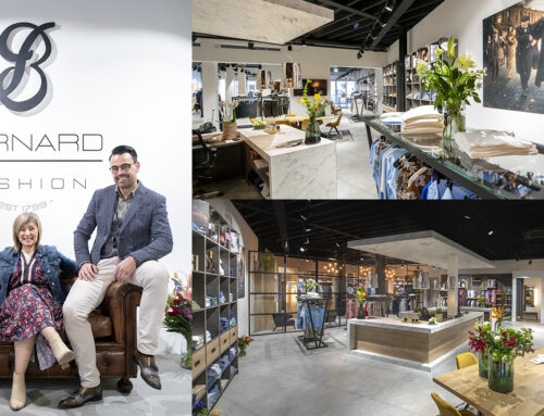 Nieuwe zaak Bernard Fashion als podium voor mooie kleding