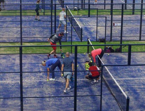 Geleense tennisclub GTR legt nog voor de zomer twee padelbanen aan