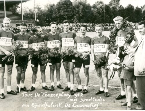 Geleen liep uit voor zijn legendarische wielerheld Jan Nolten