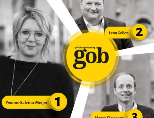 Politieke groepering gob kiest 'Top 3' voor gemeenteraadsverkiezingen 2022