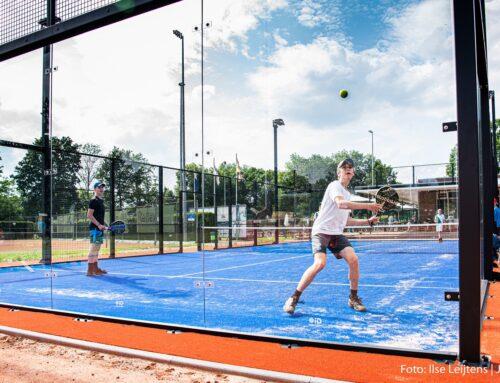 Opening padelbanen tennisvereniging GTR Geleen