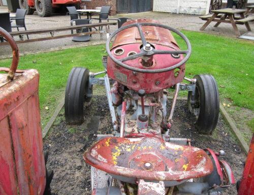 MIJNKunststukjes:Op de tractor